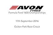 17.09.16 - Oulton Park