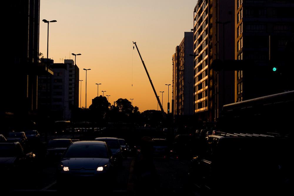 Sao Paulo_SP, Brasil...Avenida Paulista em Sao Paulo...The Paulista avenue in Sao Paulo...Foto: MARCUS DESIMONI / NITRO