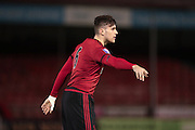 George Cleet, West Bromwich Albion defender during the Barclays U21 Premier League match between Brighton U21 and U21 West Bromwich Albion at the Checkatrade.com Stadium, Crawley, England on 25 January 2016.