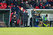 Doncaster Rovers Manager Darren Ferguson  during the EFL Sky Bet League 1 match between Doncaster Rovers and Bristol Rovers at the Keepmoat Stadium, Doncaster, England on 27 January 2018. Photo by Craig Zadoroznyj.