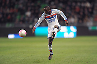 FOOTBALL - FRENCH CHAMPIONSHIP 2011/2012 - L1 - STADE RENNAIS v OLYMPIQUE LYONNAIS - 1/04/2012 - PHOTO PASCAL ALLEE / DPPI - MOUHAMADOU DABO (OL)