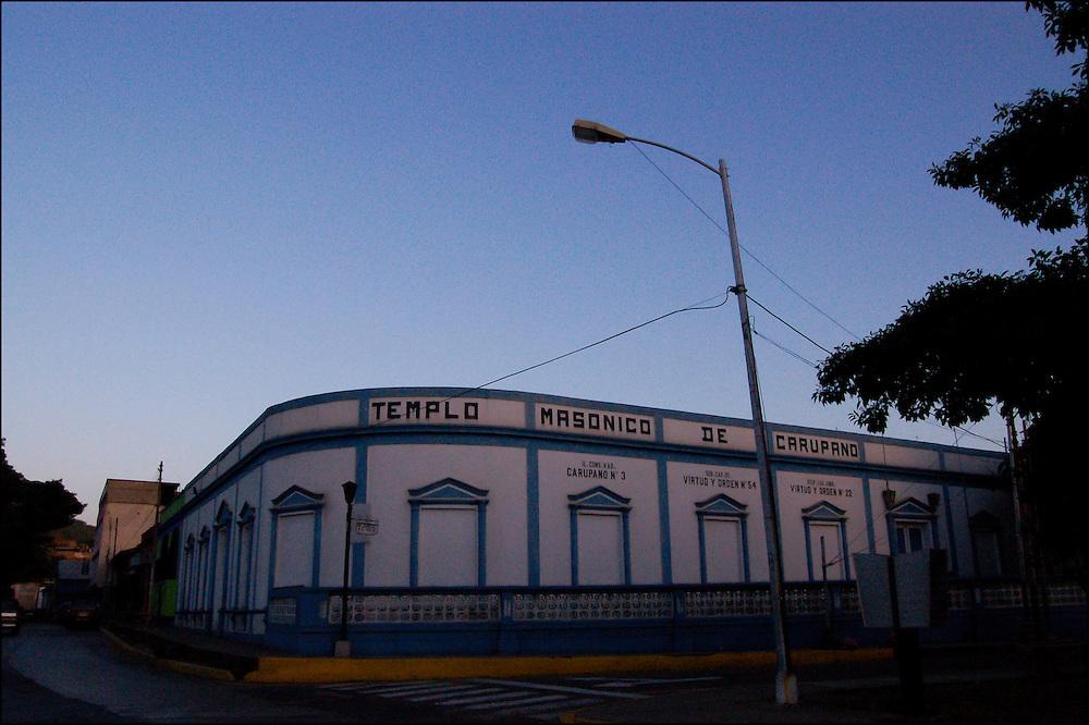 REPORTAJE DEL ESTADO SUCRE<br /> Photography by Aaron Sosa<br /> Templo Masonico<br /> Carupano, Estado Sucre - Venezuela 2007<br /> (Copyright © Aaron Sosa)