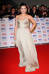 Shona McGarty at the National Television Awards held in London on Wednesday, 25th January 2012. Photo by: i-Images