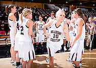 January 5, 2009: The Rogers State Hillcats play against the Oklahoma Christian University Lady Eagles at the Eagles Nest on the campus of Oklahoma Christian University.
