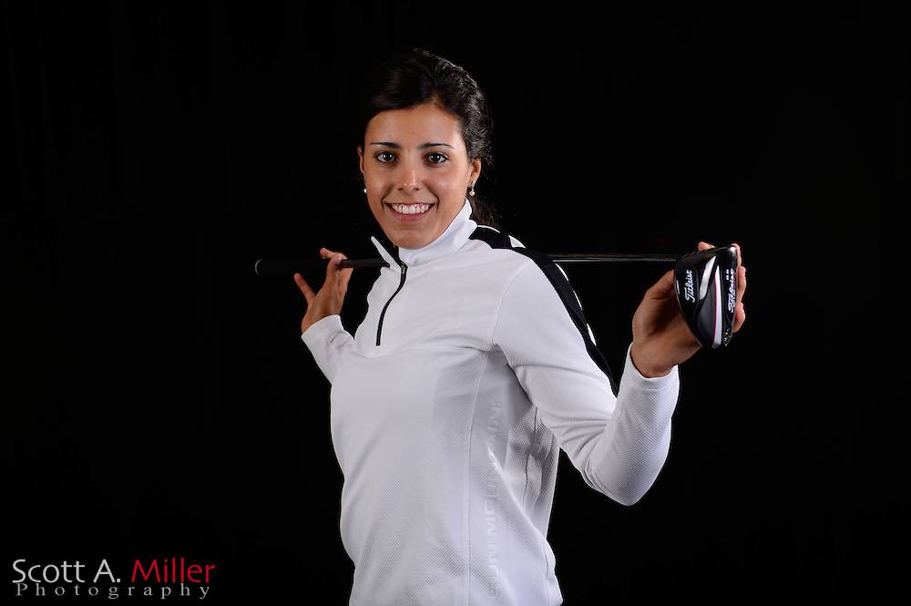 Martina Gavier during a portrait session prior to the Symetra Tour's Florida's Natural Charity Classic at the Lake Region Yacht and Country Club on Mar 20, 2013  in Winter Haven, Florida. ..©2013 Scott A. Miller