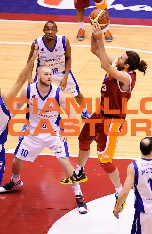 DESCRIZIONE : Milano Coppa Italia Final Eight 2013 Ottavi di Finale Pallacanestro Cantu' Acea Roma<br /> GIOCATORE : Luigi Datome<br /> CATEGORIA : Tiro<br /> SQUADRA : Acea Roma<br /> EVENTO : Beko Coppa Italia Final Eight 2013<br /> GARA : Pallacanestro Cantu' Acea Roma<br /> DATA : 07/02/2013<br /> SPORT : Pallacanestro<br /> AUTORE : Agenzia Ciamillo-Castoria/A.Giberti<br /> Galleria : Lega Basket Final Eight Coppa Italia 2013<br /> Fotonotizia : Milano Coppa Italia Final Eight 2013 Ottavi di Finale Pallacanestro Cantu' Acea Roma<br /> Predefinita :