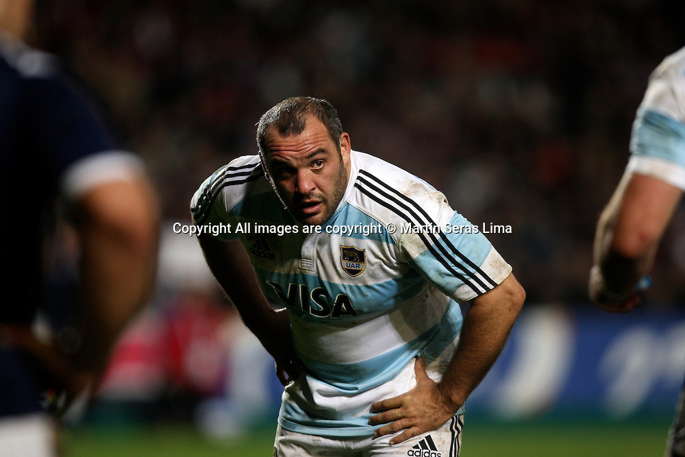 Rodrigo Roncero at France v Argentina - Stade de la Mosson - Montpellier 20 November 2010 Photo: Martin Seras Lima