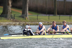 2012.02.25 Reading University Head 2012. The River Thames. Division 1. St Edwards School Boat Club IM1 8+