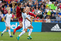 England's Demi Stokes Steph Houghton and Spain's Alexia Putellas during the frendly match between woman teams of  Spain and England at Fernando Escartin Stadium in Guadalajara, Spain. October 25, 2016. (ALTERPHOTOS/Rodrigo Jimenez)