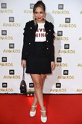 Rebecca Ferguson arriving at the BBC Music Awards 2016, Excel Docklands, London.Picture Credit Should Read: Doug Peters/EMPICS Entertainment