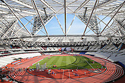 Inside the stadium view during the Muller Anniversary Games at the Stadium, Queen Elizabeth Olympic Park, London, United Kingdom on 23 July 2016. Photo by Phil Duncan.