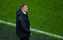 CARDIFF, WALES - Sunday, October 13, 2019: Wales' manager Ryan Giggs during the UEFA Euro 2020 Qualifying Group E match between Wales and Croatia at the Cardiff City Stadium. (Pic by Paul Greenwood/Propaganda)