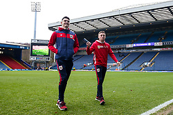 Joe Morrell and Max O'Leary of Bristol City arrive at Ewood Park for the Sky Bet Championship fixture against Blackburn Rovers - Mandatory by-line: Robbie Stephenson/JMP - 09/02/2019 - FOOTBALL - Ewood Park - Blackburn, England - Blackburn Rovers v Bristol City - Sky Bet Championship
