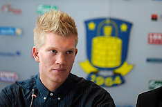 20120128 Brøndby pressemøde Simon Makienok Christoffersen