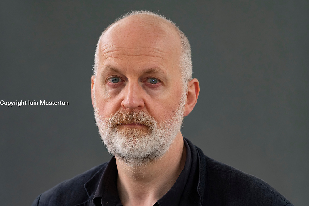 """Edinburgh, Scotland, UK; 19  August, 2018. Pictured; Don Paterson. In his book """"The Poem: Lyric, Sign, Metre"""", poet Don Paterson, one of Britain's pre-eminent verse writers provides answers to the questions, Can poetry be understood using the form and techniques of a poem? and how would a modern day poet present a version of Roman poet Horace's Ars Poetica?."""
