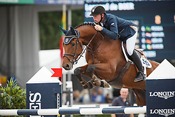 De Boer Lennard (NED) - Coach<br /> Final 6 years<br /> FEI World Breeding Jumping Championships for Young Horses - Lanaken 2014<br /> © Dirk Caremans