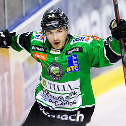 20131001: SLO, Ice Hockey - EBEL League, HDD Telemach Olimpija vs EHC Liwest Black Wings Linz