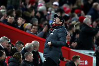 Football - 2019 / 2020 Premier League - Liverpool vs. Manchester City<br /> <br /> Reaction from Liverpool Manager Jurgen Klopp, at Anfield.<br /> <br /> COLORSPORT/PAUL GREENWOOD