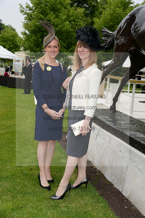 Left to right, ROSIE NIXON and RUTH SULLIVAN at Day 1 of the 2013 Royal Ascot Racing Festival at Ascot Racecourse, Ascot, Berkshire on 18th June 2013.