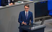 DEU, Deutschland, Germany, Berlin, 01.02.2018: Prof. Dr. Lars Castellucci (SPD) bei einer Rede im Deutschen Bundestag.