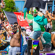 NLD/Amsterdam/20170805 - Gaypride 2017, Stichting Save Haven Baarsjes, Secret Garden