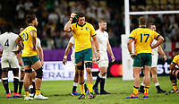 Rugby Union - 2019 Rugby World Cup - Quarter-Final: England vs. Australia<br /> <br /> Adam Coleman of Australia at Oita Stadium, Oita Prefecture.<br /> <br /> COLORSPORT/LYNNE CAMERON