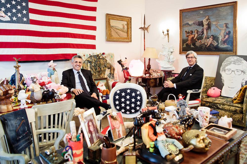 05 MAY 2011 - Barberino del Mugello (FI) - Simone Anichini e Sandro Fratini, Rifle Holding abbigliamento