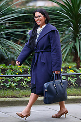 © Licensed to London News Pictures. 26/01/2016. London, UK. Minister for Employment PRITI PATEL attending a cabinet meeting in Downing Street on Tuesday, 26 January 2016. Photo credit: Tolga Akmen/LNP