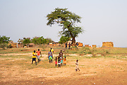 Tonga fishing village on Lake Kariba, Zimbabwe