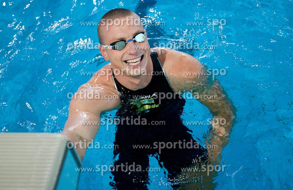 Emil Tahirovic at International Swimming competition of Kranj, on June 14, 2009, in Olympic pool, Kranj, Slovenia. (Photo by Vid Ponikvar / Sportida)