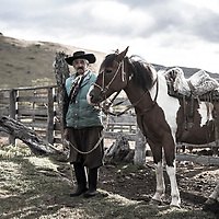 71 year old gaucho Juan Cardenas, near Puerto Natales, in Chilean Patagonia. Juan has suffered 3 heart attacks, but still works daily as a gaucho.
