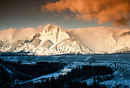 Grand Teton National Park, Teton Range, Snake River, Wyoming