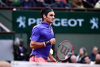 Roger FEDERER - 31.05.2015 - Jour 8 - Roland Garros 2015 <br />Photo : Dave Winter / Icon Sport