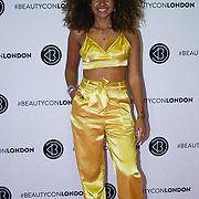 Olympia London,UK, 2nd Dec 2017. Nia Pettitt attends the BeautyCon London.