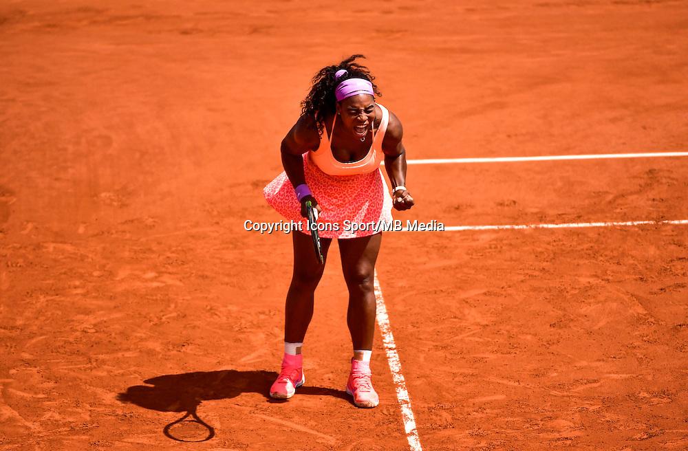 Serena WILLIAMS - 03.06.2015 - Jour 11 - Roland Garros<br /> Photo : Dave Winter / Icon Sport