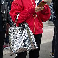 Issey Miyake Bag, Outside Gucci FW2017