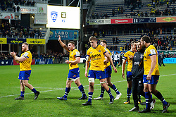 Bath Rugby players after the match - Mandatory byline: Patrick Khachfe/JMP - 07966 386802 - 15/12/2019 - RUGBY UNION - Stade Marcel-Michelin - Clermont-Ferrand, France - Clermont Auvergne v Bath Rugby - Heineken Champions Cup