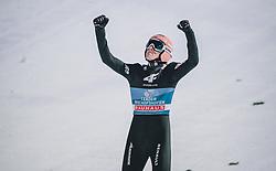 06.01.2020, Paul Außerleitner Schanze, Bischofshofen, AUT, FIS Weltcup Skisprung, Vierschanzentournee, Bischofshofen, Finale, im Bild Gesamtsieger Dawid Kubacki (POL) // Overall Winner Dawid Kubacki of Poland during the final for the Four Hills Tournament of FIS Ski Jumping World Cup at the Paul Außerleitner Schanze in Bischofshofen, Austria on 2020/01/06. EXPA Pictures © 2020, PhotoCredit: EXPA/ JFK