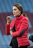 Pregnant Kate Middleton Visits Coach Core, Birmingham