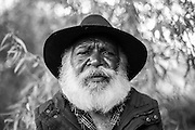 Glen Cooke is a respected Ngaanyatjarra elder from the Warburton Ranges in the central desert of Western Australia.<br /> He works as a cultural guide to strengthen traditional values and assists with challenges such as suicide prevention and preserving the environment.<br /> Mr Cooke speaks at universities around Australia and at community rallies to contribute a positive direction for decision makers in this nation.<br /> Mr Cooke is a talented artist and shares legends of the Dreamtime that tell stories of the creator and paints stunning landscapes of country where he has a strong spiritual connection.