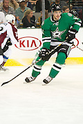DALLAS, TX - SEPTEMBER 26:  Tyler Seguin #91 of the Dallas Stars looks on against the Colorado Avalanche in an NHL preseason game on September 26, 2013 at the American Airlines Center in Dallas, Texas.  (Photo by Cooper Neill/Getty Images) *** Local Caption *** Tyler Seguin