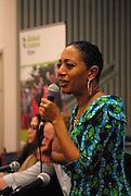 'Take Back Our World' Conference.<br /> Launch of the 'Global Justice Now' group, formally the 'World Development Movement'.<br /> Closing plenary: &quot;Take Back our World!'<br /> Samia Nkrumah, chair of the Convention People's Party, Ghana. She is daughter of the first president of Ghana, Kwame Nkrumah.
