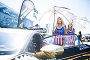 September 7-9, 2018: Lamborghini Super Trofeo, Weathertech Raceway Laguna Seca. 69 Wayne Taylor Racing, Paramus Lamborghini Huracan Super Trofeo EVO, grid girls