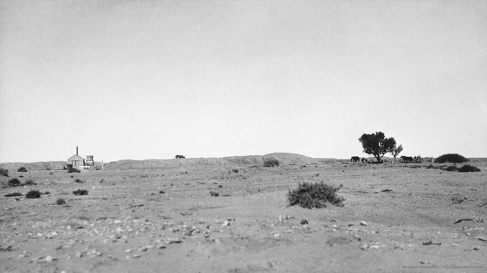 View From Coober Pedy Opal Mines, Western Australia, 1930