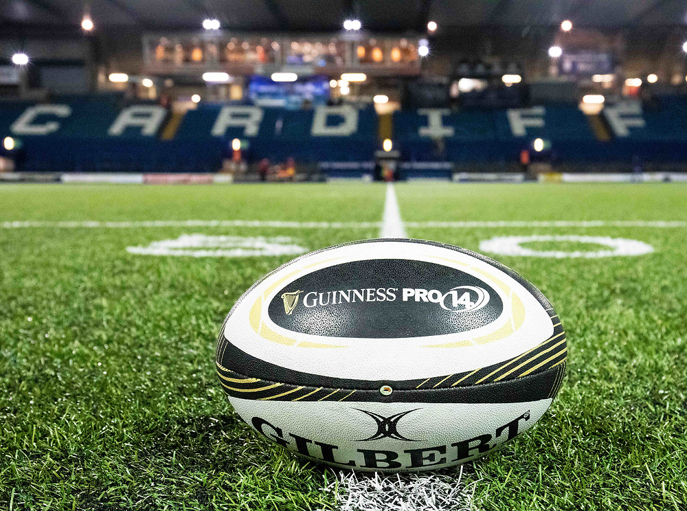 A general view of Cardiff Arms Park, home of Cardiff Blues<br /> <br /> Photographer Simon King/Replay Images<br /> <br /> Guinness PRO14 Round 15 - Cardiff Blues v Glasgow Warriors - Saturday 16th February 2019 - Cardiff Arms Park - Cardiff<br /> <br /> World Copyright © Replay Images . All rights reserved. info@replayimages.co.uk - http://replayimages.co.uk