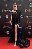 Melina Vidler at The 2018 Australian Academy of Cinema and Television Arts (AACTA) Awards at The Star in Sydney, Australia