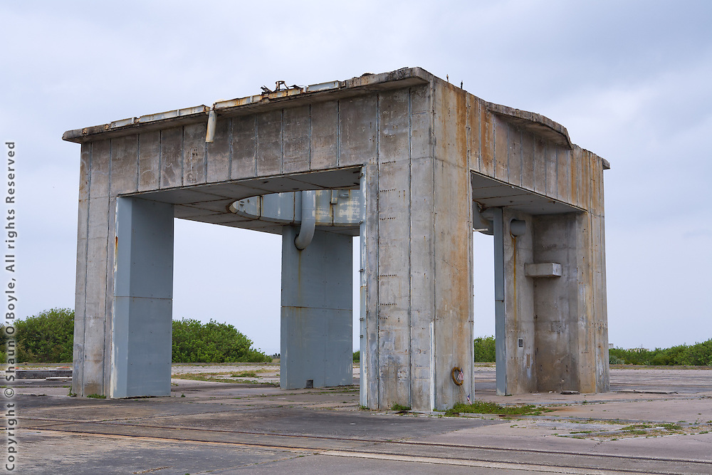 Apollo 1 launch pad, launch complex 34 where the Apollo 1 tragedy occured.