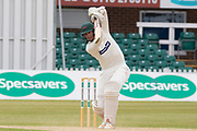Chris Wright batting during the Specsavers County Champ Div 2 match between Leicestershire County Cricket Club and Durham County Cricket Club at the Fischer County Ground, Grace Road, Leicester, United Kingdom on 10 July 2019.