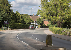 © Licensed to London News Pictures. 26/08/2016. Redhill, UK. Police are appealing for witnesses after it was reported that a boy was taken into a van on Thursday evening on the Redstone Hill road are of Redhill. Photo credit: Peter Macdiarmid/LNP