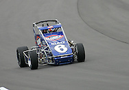 05 MAY 2007: Stephanie Mockler (6) of Janice East practices in her midget car before the Casey's General Stores USAC Triple Crown at the Iowa Speedway in Newton, Iowa on May 5, 2007.